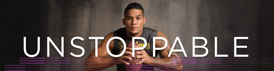 Unstoppable Campaign James Conner