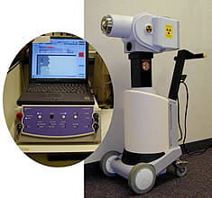 Remote afterloader machine used for HDR Brachytherapy