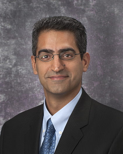 Inderpal S. Sarkaria, MD, FACS, a specialist in thoracic and cardiac surgery at UPMC CancerCenter