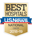 Nationally ranked for cancer care by U.S. News and World Report